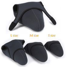 universal neoprene Camera Liner Case Pouch For SONY CANON NIKON LEICA DSLR camera protective cover soft bag S M L size