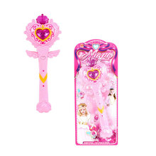Flashing Light Fairy Princess Luminescence Musical Magic Wand Kids Fun