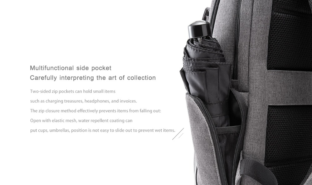 Xiaomi Fashion Commuting Waterproof backpack Removable Front Bag Big Capacity men backpacks travel backpack Laptop Bag male H0 (35)