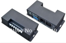 4 channel constant current dmx driver,input 12-48v,output 350mA*4 way,16.8w-67.2w,0-100 dimming,3 years warranty