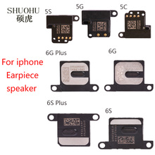 SHUOHU  good Quality for iPhone 6G 6s 6 Plus 5 5G 5s 5c Earpiece Ear Piece Sound Speaker Flex Cable Replacement Repair Parts