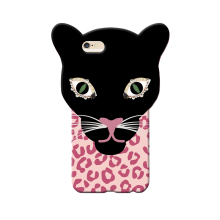 2017 Fashion sexy girl perfume nail polish diamond eye leopard big head tiger tpu case cover For Iphone6 6s/6plus 6splus/7/7plus