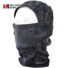 Tactical Military Balaclava Face Mask Quick-drying Hood Bike Cycling Headgear Caps Camouflage Hunting Hat Masks Men Women(China)