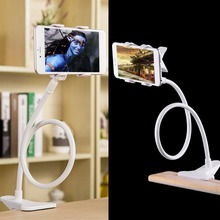 360 Rotating Flexible Long Arm cell phone holder stand lazy bed desktop tablet  selfie mount bracket for iphone 6,for samsung