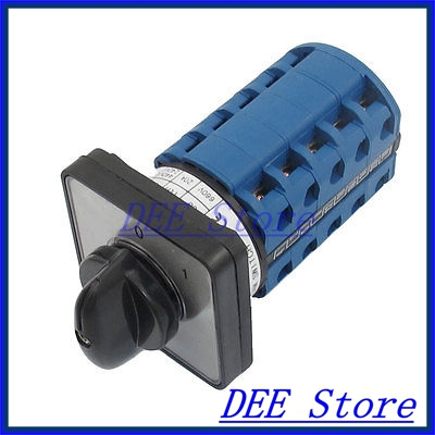 Electric 2 Position 20 Terminals Rotary Cam Changeover Switch 660V 20A<br><br>Aliexpress