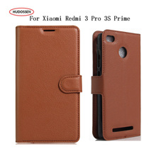 Buy HUDOSSEN Xiaomi Redmi 3S 3 Pro Leather Case Luxury Flip Wallet Coque Xiaomi Redmi 3S 3 Pro Prime Cover Phone Bag Fundas for $4.04 in AliExpress store