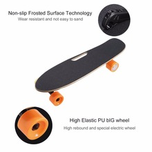 4 Wheel Electric Skateboard Single Driver Motor Small Fish Plate Wireless Remote Control Longboard Waveboard 15km/h 120KG - Automobiles Parts Selling Store store