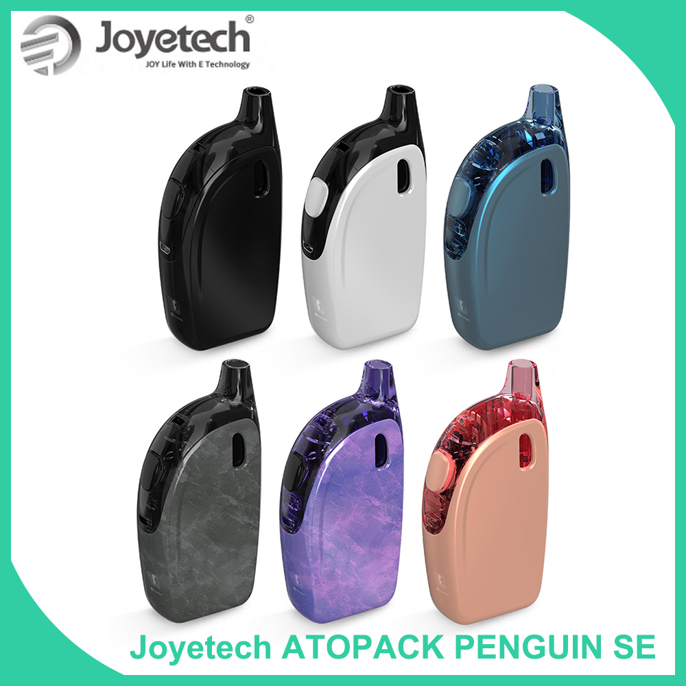 Original Joyetech Atopack Penguin SE Kit with 8.8ml Cartridge capacity Built in 2000mAh vs Atopack Penguin Vaporizer Vape