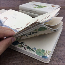 Notebook paper thicken books artistic 32K diary memos color plates printing Collection Notepad design Stationery illustration XM