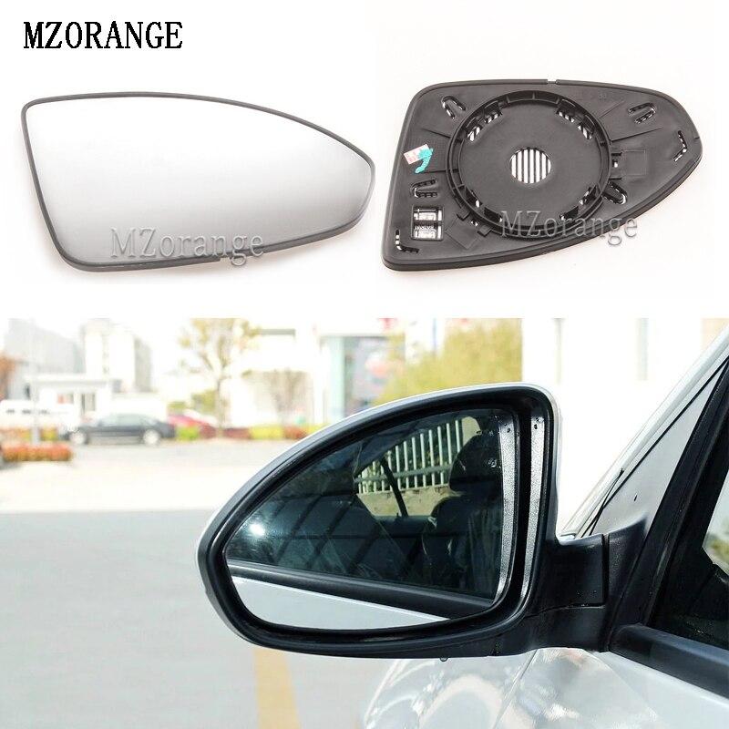 Pour Chevrolet Spark 2009-2015 à Gauche Plat électrique aile miroir de verre avec plaque