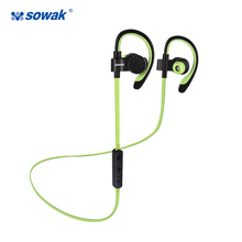 Sowak Bluetooth 4.1 Wireless Sport Headphones Sweatproof Running Gym Exercise Headset Hands Light Free Calling with Mic headset(China)