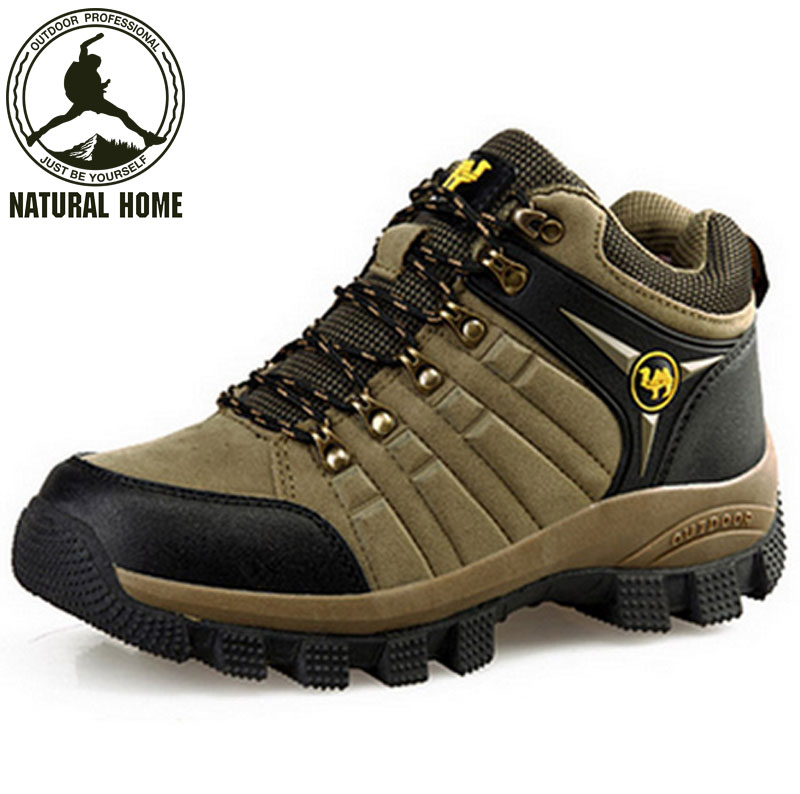 NaturalHome winter men mountaineering outdoor athletic waterproof hunting boots high quality breathable shoes botas<br><br>Aliexpress
