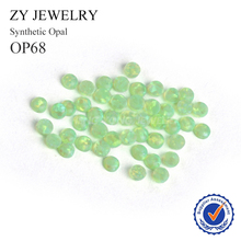 Hot Sale 2.0mm~10mm Round Cabochon Cut Loose Opal Stones OP68 Synthetic Opal Beads