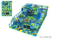 Exported to Turkey Shopping Mall Indoor Playground CE Approved Kids Playground Set 150724b(China)
