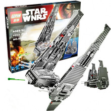 1053PCS LEPIN Space Star Wars Series  Kylo Ren Command Shuttle Assembling Model Toy Building Blocks Bricks Brinquedos