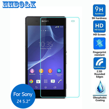 For Sony Xperia Z3+ Dual tempered glass film 2.5 9h Safety Protective screen protector on Z4 E6553 E6533  Z5 Z1 Z2 Z3 Compact