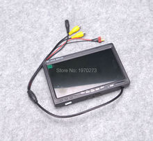 NEW 7 inch LCD TFT 1024 x 600 Monitor with T plug Screen FPV Monitor Photography Ground Station For RC Parts(China)