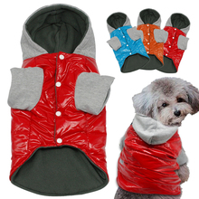Winter Dog Clothes Waterproof Warm Pet Clothing Jacket Cheap Coat Dogs Hoodies cachorro S M L XL For Chihuahua Teddy(China)
