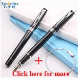 Emoshire Wholesale metal pen gift gift pen black engraved calligraphy pen pen 5-708 signature pen custom logo (03)