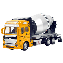 Heavy Loader Bulldozers Truck Dumper Excavator Toys City Construction Vehicles Engineering Diecast Model 1:48 Models For Boy(China)