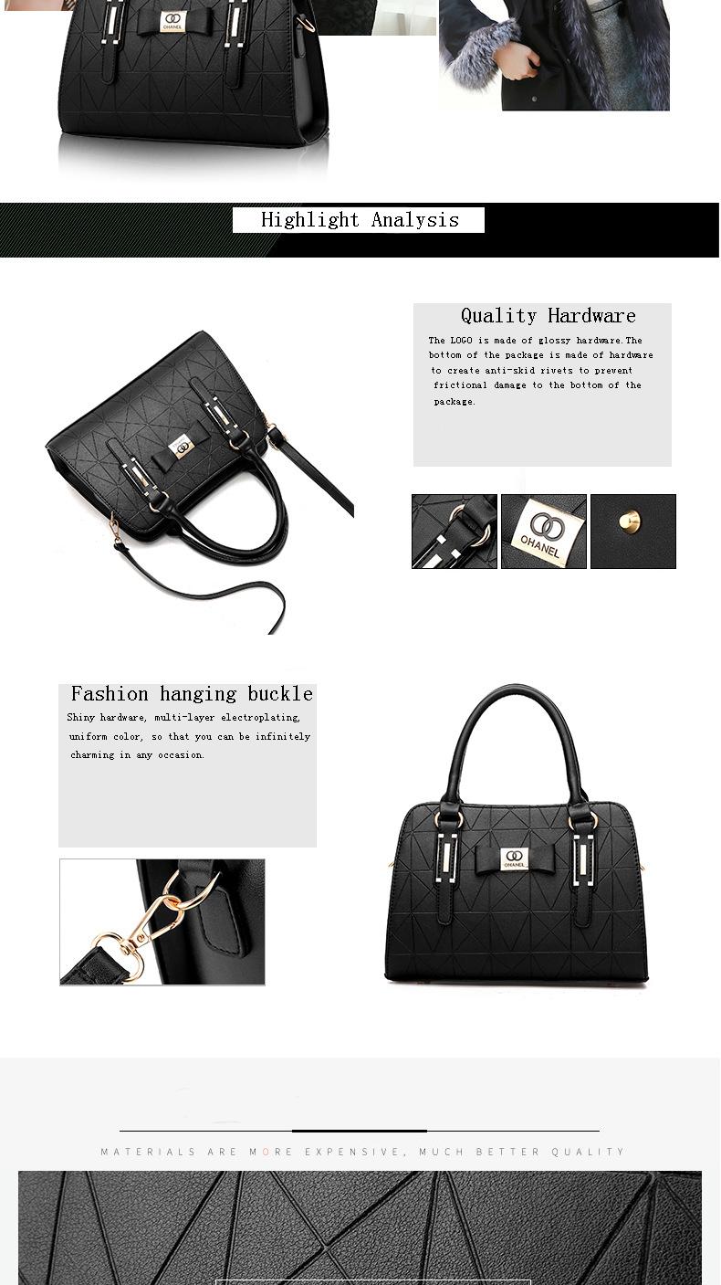 MICKY KEN Hot Sale Fashion Women Leather Handbag 3