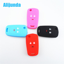 Alijunda car key cover key protector keychain for Chevrolet Cruz Buick Regal Lacrosse Encore Excelle GT/XT /Opel Astra VAUXHALL(China)