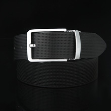 2016  Men's Dress Belt genuine Leather Reversible Rotated Pin Buckle Belts Designer Fashion Luxury Brand Waistband