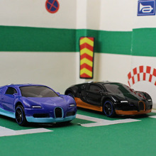 LR 1: 64 alloy car models sports car series Bugatti Veyron children's toys Children like the gift Family Decoration(China)