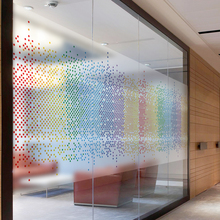 Custom Static Cling Stained Glass Window Film Frosted & Opaque Privacy Office Decor Digital print Removable BLT1032 The Star(China)