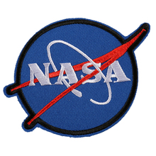 10pcs NASA Embroidered Patches Iron On Sewing Applique Badge Cool Clothes Patch Stickers For Garment Jeans Backpack(China)