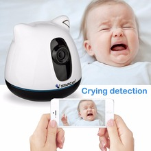 VStarcam C81 Wireless Wifi Video Baby Monitor Security IP Camera with Two Way Auido Crying Temperature Humidity IR Night Vision