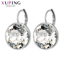 11.11 Deals Xuping Fashion Top Sale Crystals from Swarovski Colorful Earrings With Color Plated Charm for Women Gift XE2189