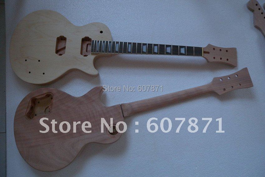 1 set  NEW high quality   Unfinished electric guitar neck  Rose Fretboard with body<br><br>Aliexpress