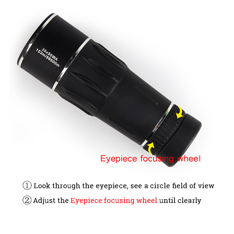 HD Monocular 35X95 10398500m High Power FMC Nitrogen Telescope for Hunting Travel Bird Watching Concert RL38-0009 (16)