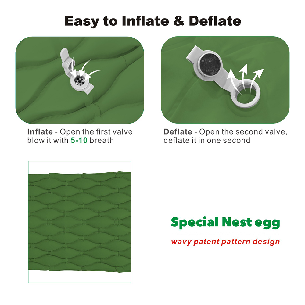 Inflatable sleeping pad 2.3