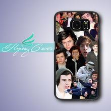 Coque One Direction Harry Styles Case for Samsung Galaxy S3 S4 S5 S6 S7 Edge Plus Case for Samsung Galaxy Note 7 5 4 3 Case.(China)