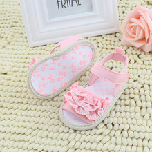 Summer Baby Infant Toddler Girl Lace Soft Sole Non-slip Shoes 0-18M