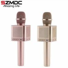 1ee97ef761f9 Szmdc оригинальный micgeek Q10S Беспроводной Bluetooth волшебный микрофон  караоке с 4 Колонки Mic черный несущих случай