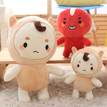 Candice guo! plush toy alone and brilliant ghosts goblin buckwheat red beans stuffed doll creative birthday Christmas gift 1pc(China)
