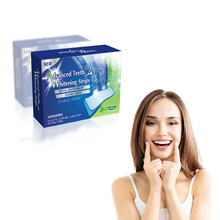 28pcs 14 Pouches Advanced Teeth Whitening Strips 6% Hydrogen Peroxide Professional Home Teeth whitening(China)