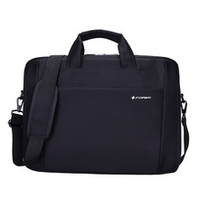 New Waterproof 15 inch Laptop bag for hp lenovo sony dell laptop bag computer bag for men women briefcase black nylon bag(China)