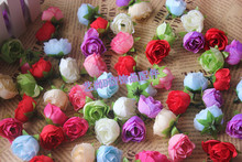 Buy 3CM/60PCS Small Fabric Artificial Silk Roses buds Heads,Floral Head Wreath,Diy Arrangements Accessories,Wedding,Home Decorations for $10.36 in AliExpress store