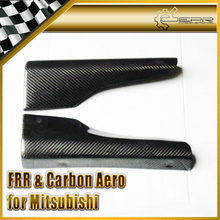 Car-styling For Mitsubishi Evolution EVO 7 8 9 Carbon Fiber Side Skirt Addon Spat In Stock
