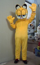High quality of the adult size wholesale POTATOE mascot costume anime show adult size Garfield free shipping(China)
