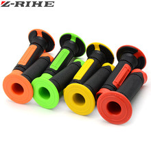 New Handle Grip for Dirt Pit bike Motocross Motorcycle Handlebar Grips 4 color Hand Grips for kawasaki KLX110 KX250F KLX250F 125