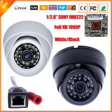 H.264 Full HD 1080P 1/2.8'' SONY IMX322 Megapixel IP Camera IR Night Vision Indoor Dome Security CCTV Camera Onvif  XMEYE P2P