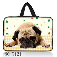 Lovely Dog Laptop Bag Sleeve Soft Neoprene 7 10 12 13 14 15 15.6 17 17.4 Universal Tablet Bag Case Notebook Computer Cover Pouch