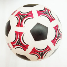 21cm Soccer Ball Kids sports Inflatable outdoor Toy PVC Plastic bouncing Ball Children Baby Christmas gift Blue red printing