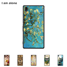 "For Sony Xperia M4 Aqua 5.0"" Cellphone Cover Mobile Phone Protective Skin Color Paint Bag Shipping Free"