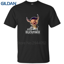 Cheap Sale Hop Five Finger Death Punch Remember Everything O Neck t shirt men's tee shirt replica(China)